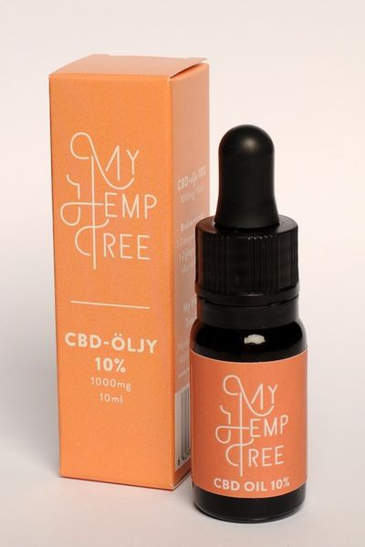 CBD ihoöljy 10% /10ml My Hemp Tree