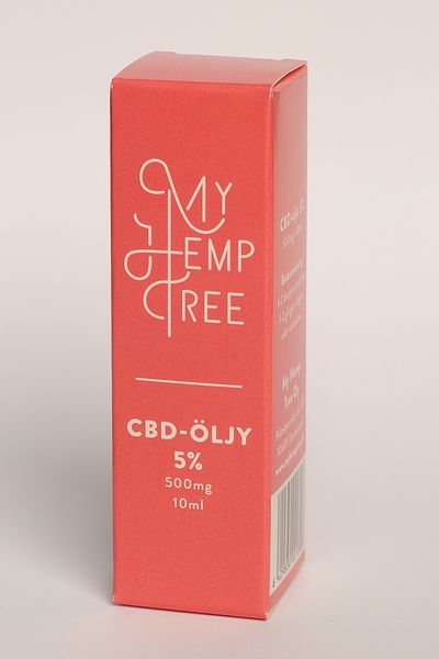 CBD ihoöljy 5% /10ml My Hemp Tree
